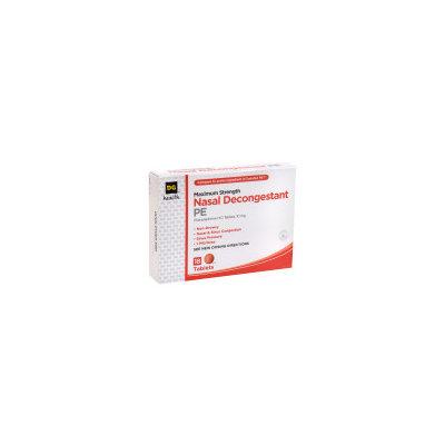 DG Health Nasal Decongestant PE Maximum Strength Tablets - 18 ct