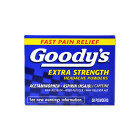 Goodys Pain Reliever Goodys Fast Pain Relief Extra Strength Headache Powder Relieves