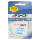 Reach Fluoride Waxed Floss, Mint - 55 yard