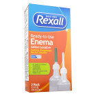 Rexall Enema Twin Pack, 4.5 oz x 2