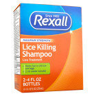 Rexall Maximum Strength Lice Killing Shampoo, 2 pack