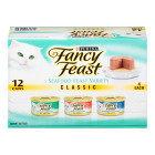 Fancy Feast Wet Catfood- Seafood, 12 pk