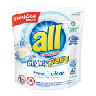 All Mighty Pacs Free & Clear 22ct