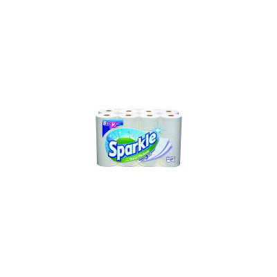 Georgia Pacific Sparkle Giant Paper Towels, Case of 8. Pack of 8
