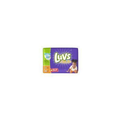 Luvs Jumbo Ultra Leakguard Diapers - Size 3, 34 ct