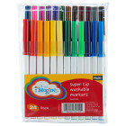 Imagine Super Tip Washable Markers - 24 Count