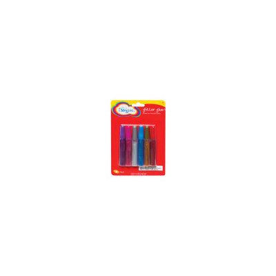 Dg Office Imagine Glitter Glue -Assorted Colors -6ct