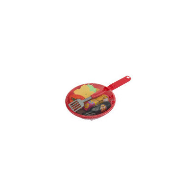 Dollar General Toy Skillet With Plastic Food - 1ct