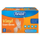 Rexall Vinyl Exam Gloves