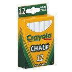Crayola Chalk, White - 12 count