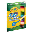Crayola Super Tip Washable Markers, Super Tips - 20 count