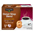 Clover Valley Donut Shop Coffee Single Serve Cups - 24ct