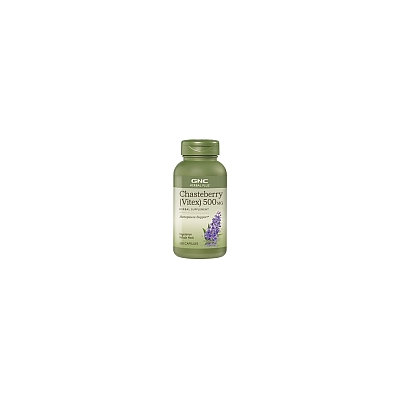 Herbal Plus Concentrates GNC Herbal Plus Chasteberry (Vitex) 500mg