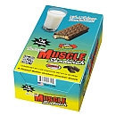 Muscle Foods - Muscle Sandwich Peanut Butter Vanilla Wafer Snack with White Chocolately Coating - 2 oz.