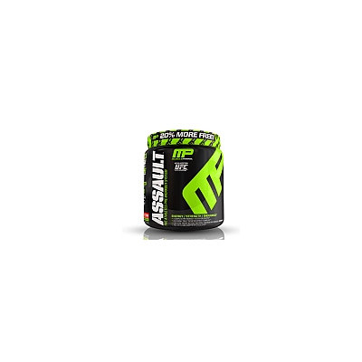 Muscle Pharm - Assault Athletes Pre-Workout System Bonus Size Pineapple Mango - 1.15 lbs.