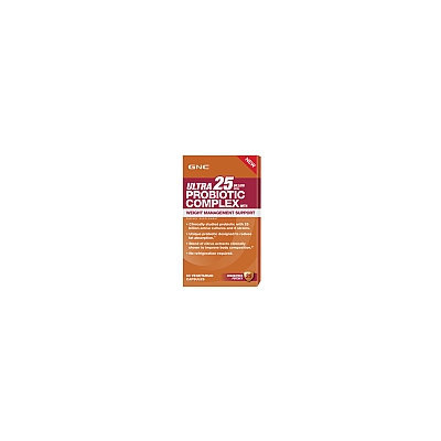 GNC Ultra Probiotic Complex 25 With Weight Management Support