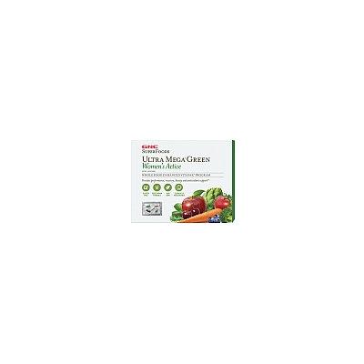 GNC SuperFoods Ultra Mega(r) Green Women's Active Vitapak