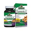 Nature's Answer - Turmeric-3 - 90 Vegetarian Capsules