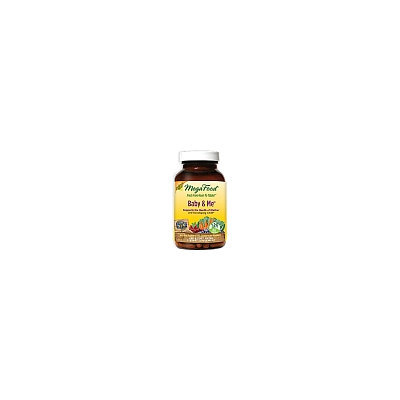 MegaFood Baby & Me Whole Food Multivitamin & Mineral 120 Tablets