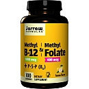Jarrow Formulas(r) Methyl B-12 & Methyl Folate - Lemon