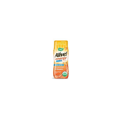 Alive! Energy Max Organic Water Enhancer Orchard Peach Nature's Way 2.13 oz Powder