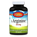 L-Arginine Carlson Laboratories 180 Tabs