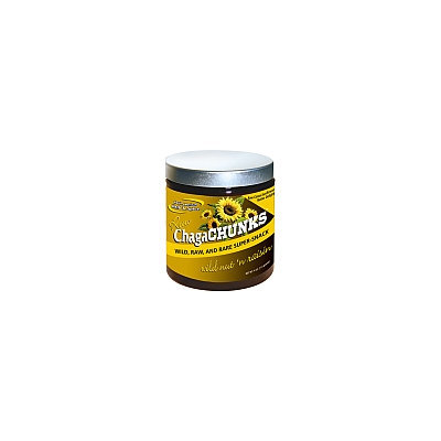 North American Herb & Spice ChagaChunks Raw Cocoa-Sunflower-Butter Delight Wild Nut 'n Raisin 4 oz - Vegan