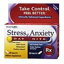 Natrol(r) Stress Anxiety Day & Nite