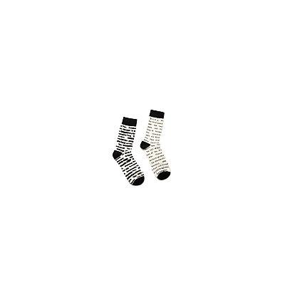 Banned Books Women's Socks