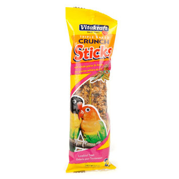 Vitakraft Honey Kracker African Lovebird Treat Sticks