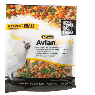 Zupreem Pet Harvest Feast Parrot Feed