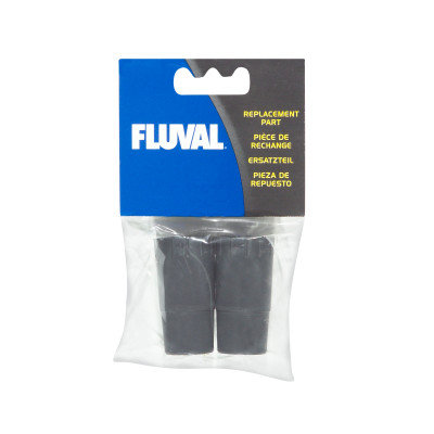 Fluval Rubber Adapter for Ribbed Hosing, 304, 305, 404, 405 (2 Pack)