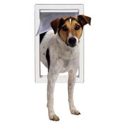 Perfect Pet Products By Ideal Perfect Pet by Ideal Small Pet Door with Telescoping Frame