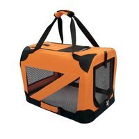 Pet Life Red Deluxe Vista View Pet Carrier LG