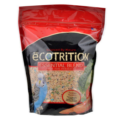 8 in 1 Ecotrition Essential Blend for Parakeets, 5 lbs.
