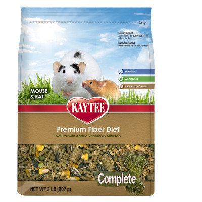 KAYTEE Complete Mouse & Rat Food