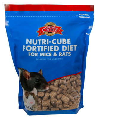 Grreat Choice Nutri Cube Fortified Mice and Rat Food
