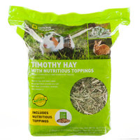 National Geographic Nutritious Topping Timothy Hay Small Pet Food