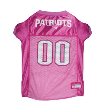 Doggie Nation.com New England Patriots Pink Dog Jersey Small