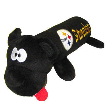 Pets First Pittsburgh Steelers Tube Dog Toy