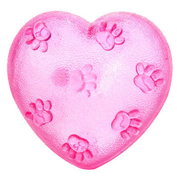 Luv-a-pet Luv A Pet Heart Squeaker Dog Toy