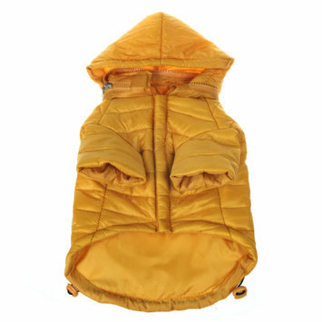 Pet Life Llc Pet Life Sporty Avalanche Pet Coat Yellow XL