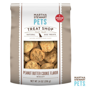 Martha Stewart Pets Treat Shop Natural Peanut Butter Cookie Dog Treat