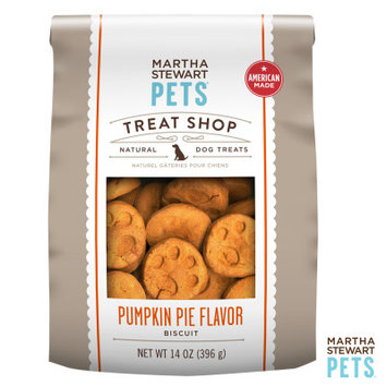 Martha Stewart Pets Treat Shop Natural Pumpkin Pie Dog Treat