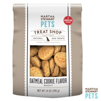 Martha Stewart Pets Treat Shop Natural Oatmeal Cookie Dog Treat