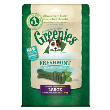 Greenies Freshmint Dental Chews 12oz Large