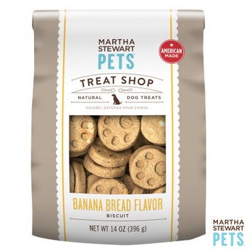Martha Stewart Pets Treat Shop Natural Banana Bread Dog Treat