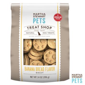 Martha Stewart Pets Treat Shop Natural Banana Bread Dog Treat