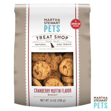Martha Stewart Pets Treat Shop Natural Cranberry Muffin Dog Treat