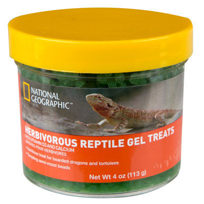 National Geographic National Geogrpahic Herbivore Gel Reptile Treats